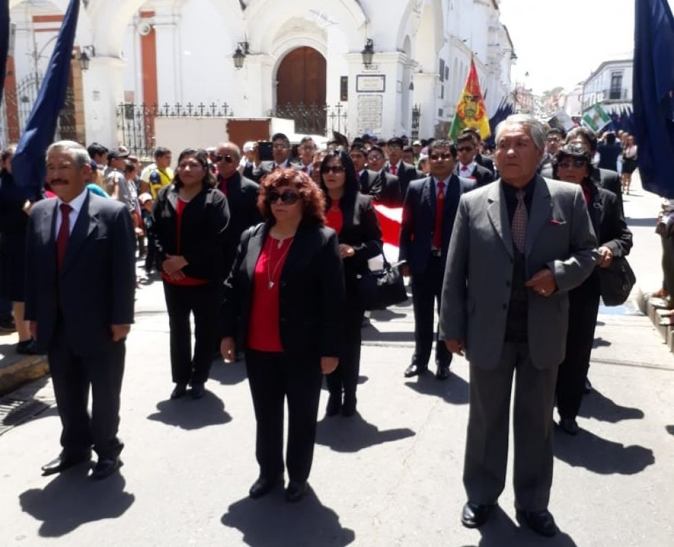 La delegación del Pichincha.