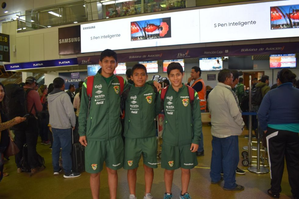 Selección boliviana.