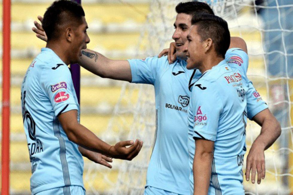 Bolívar gana y se mantiene en la punta del torneo Clausura