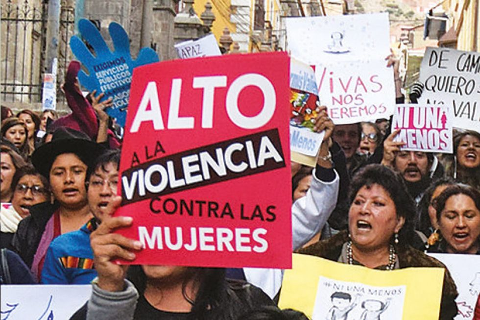 Reporte oficial: Potosí registra 26 feminicidios desde 2015