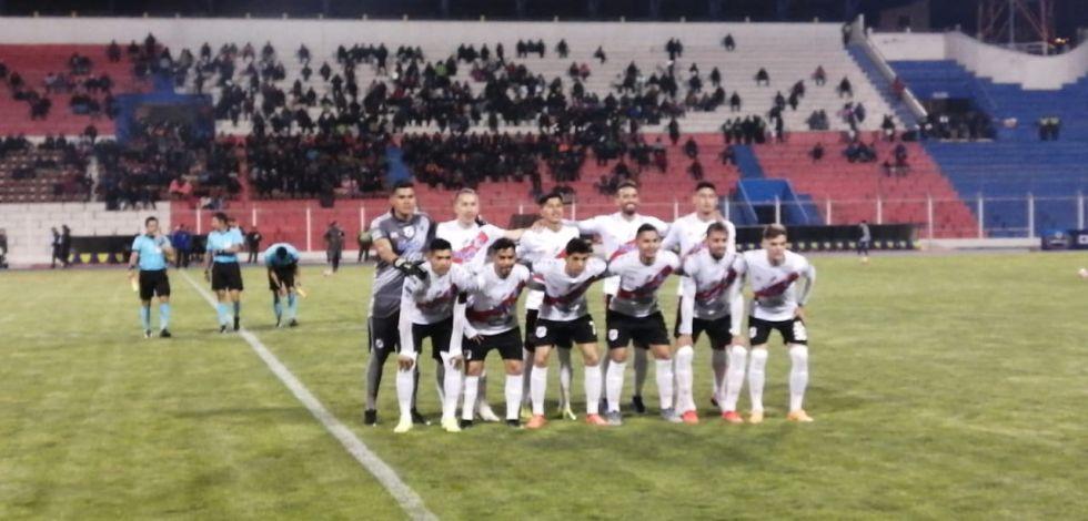 Nacional Potosí sale a la cancha.