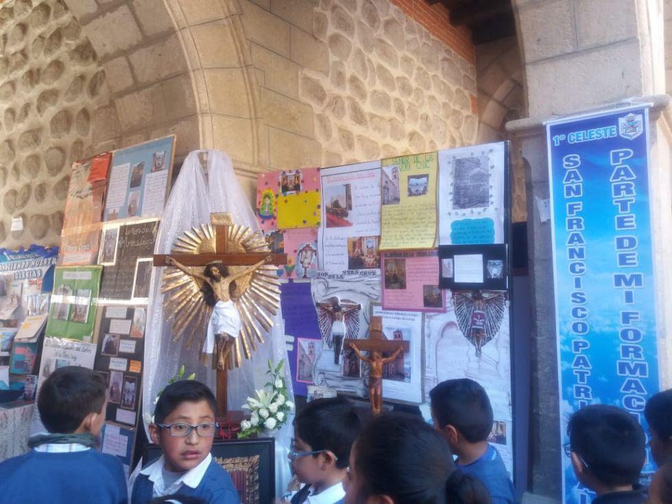 La exposición se realiza en la Casa Nacional de Moneda.
