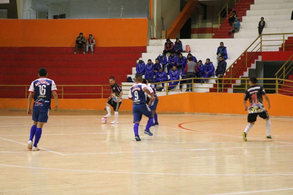 El partido entre San Martín y Fantasmas Morales quedó empatado 6-6.