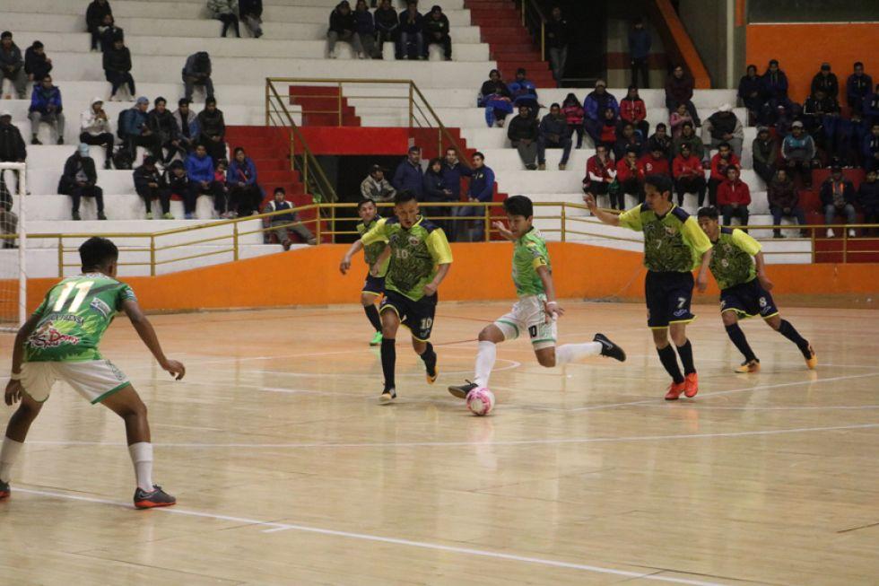 El equipo de Wolfsport goleó 6-0 a La Prensa.