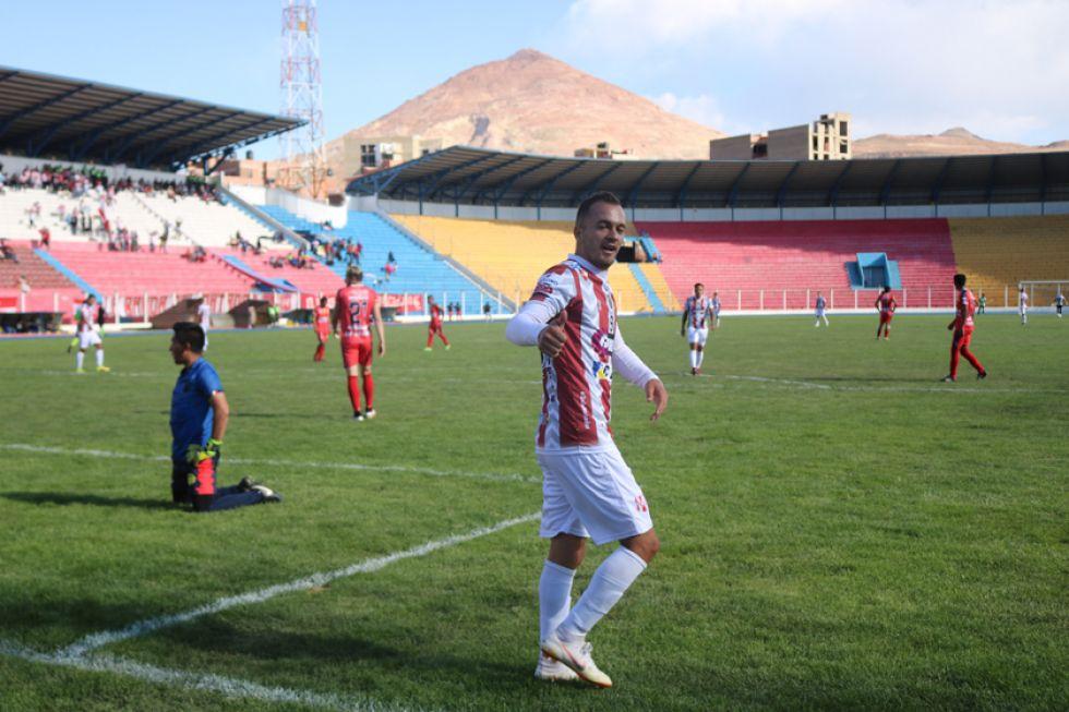 El jugador Godoy Cruz, de Independiente.