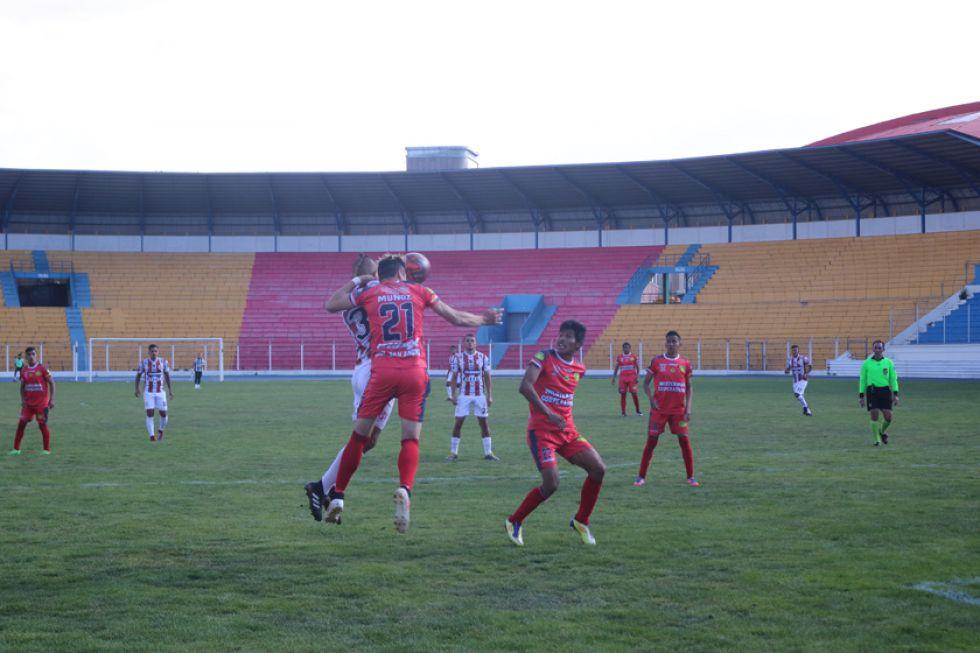 """El partido se jugó en el estadio """"Víctor Agustín Ugarte""""."""