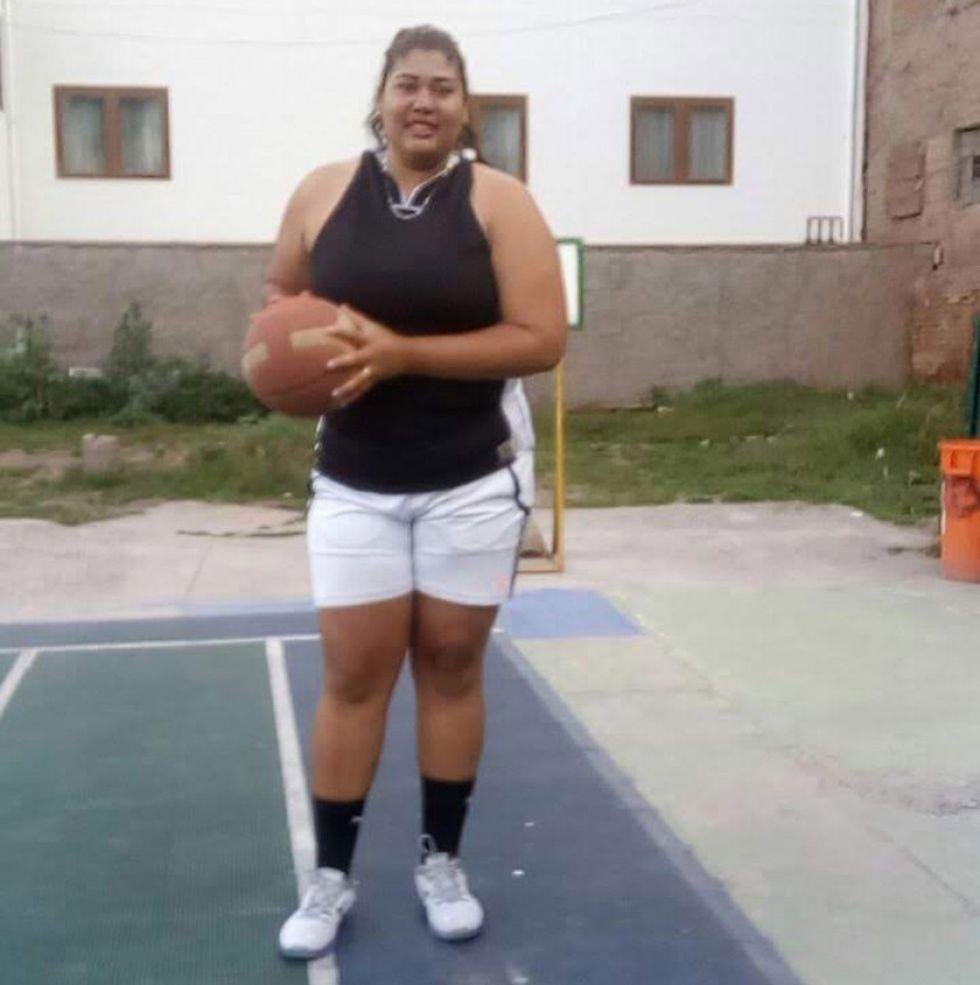 La venezolana Ayalexia Irazábal.