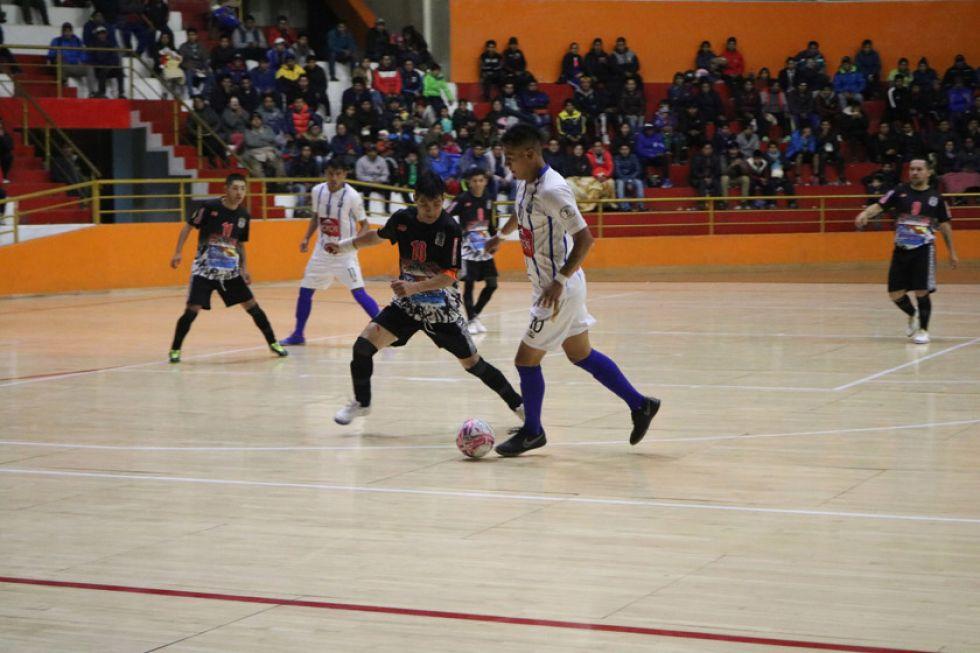 Concepción pierde pero clasifica en la Liga de Futsal