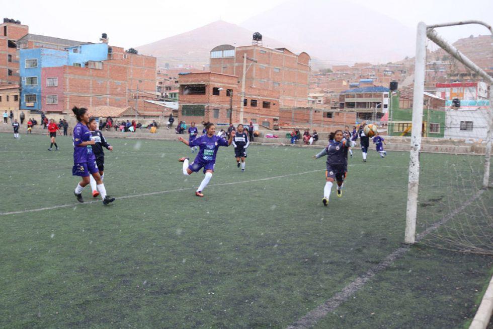 Real Potosí en categoría femenina gana 11-0