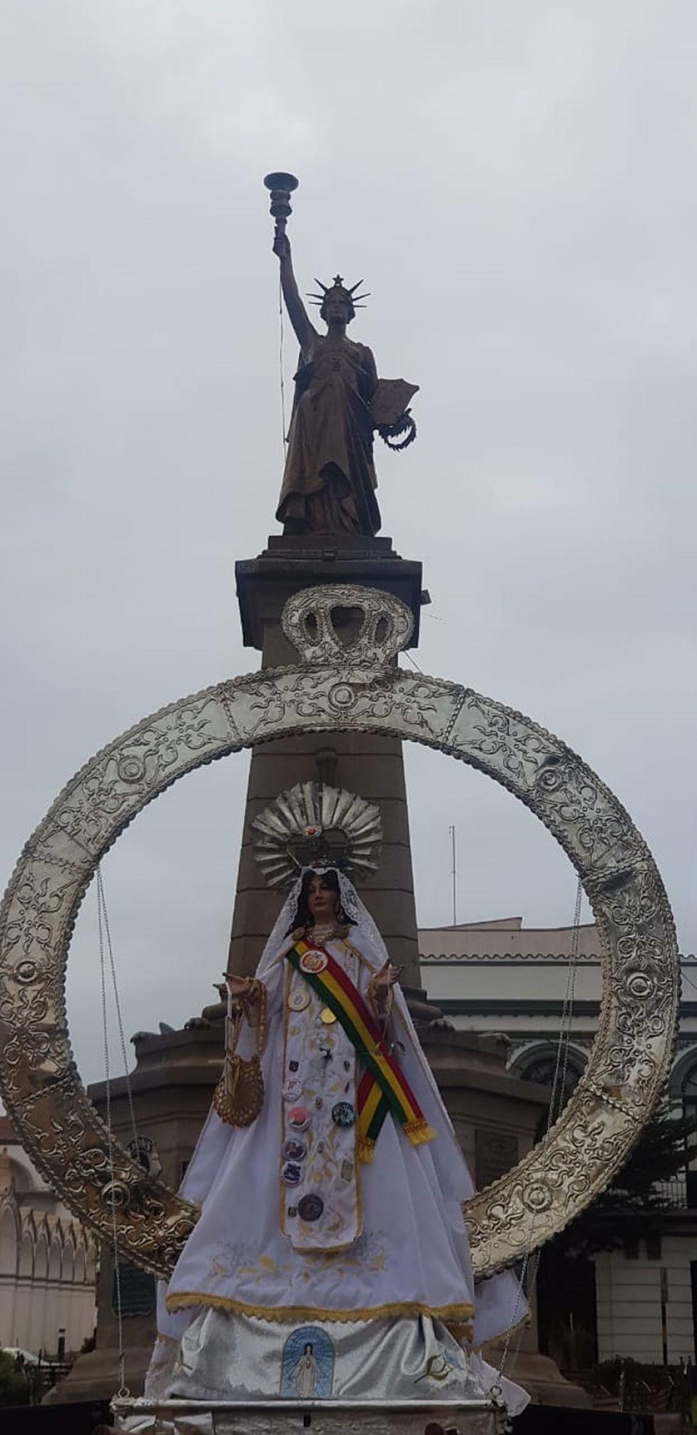 La Virgen y la libertad.