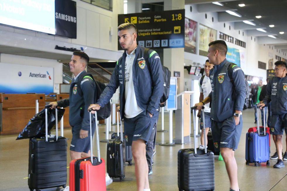Los seleccionados viajan a Venezuela.