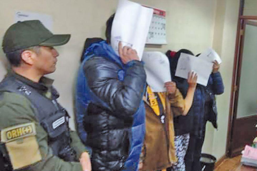 Hay cuatro detenidos por subastar mujeres para relación sexual
