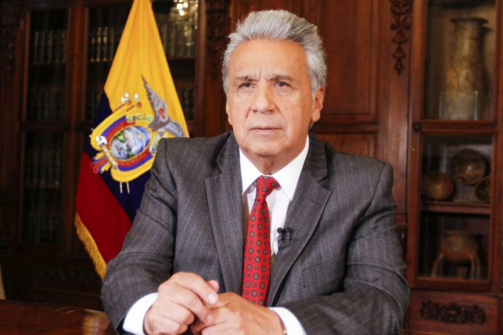 Lenin Moreno lleva la sede de Gobierno de Ecuador a Guayaquil