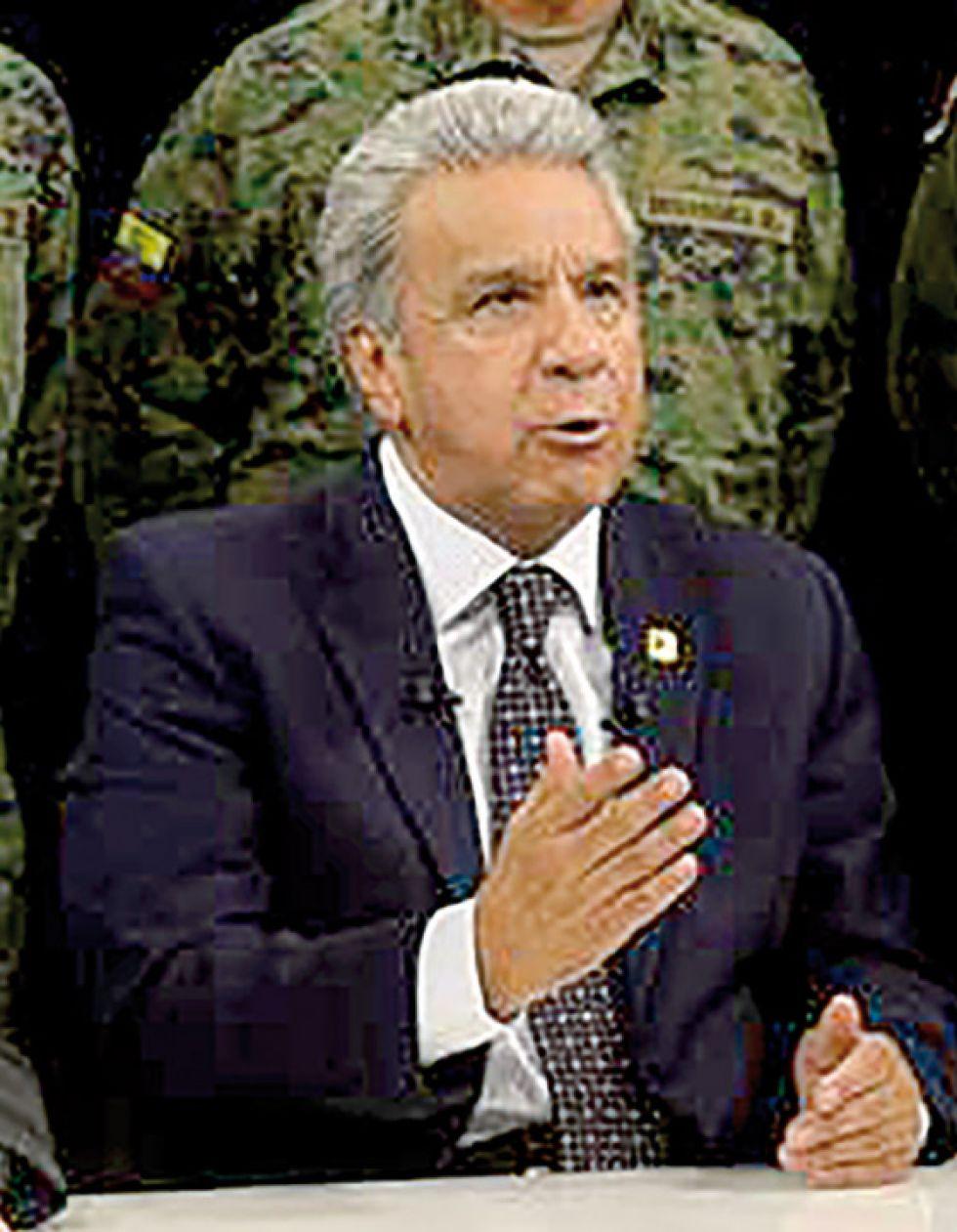 PRESIDENTE. Lenín Moreno.