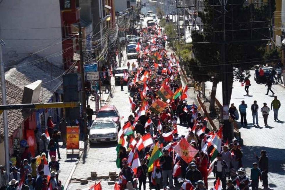 La demanda de federalismo nace en diciembre de 1941 en Potosí