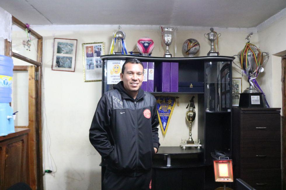 El ahora extécnico lila, Nicolás Suárez.