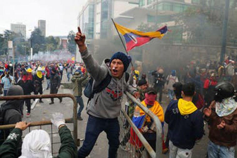Las movilizaciones en Ecuador ya causaron cinco fallecidos