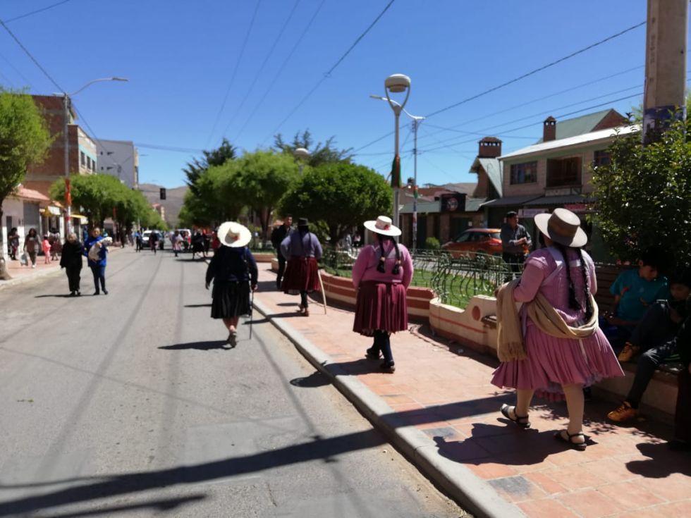 Panorama en la avenida Murillo.