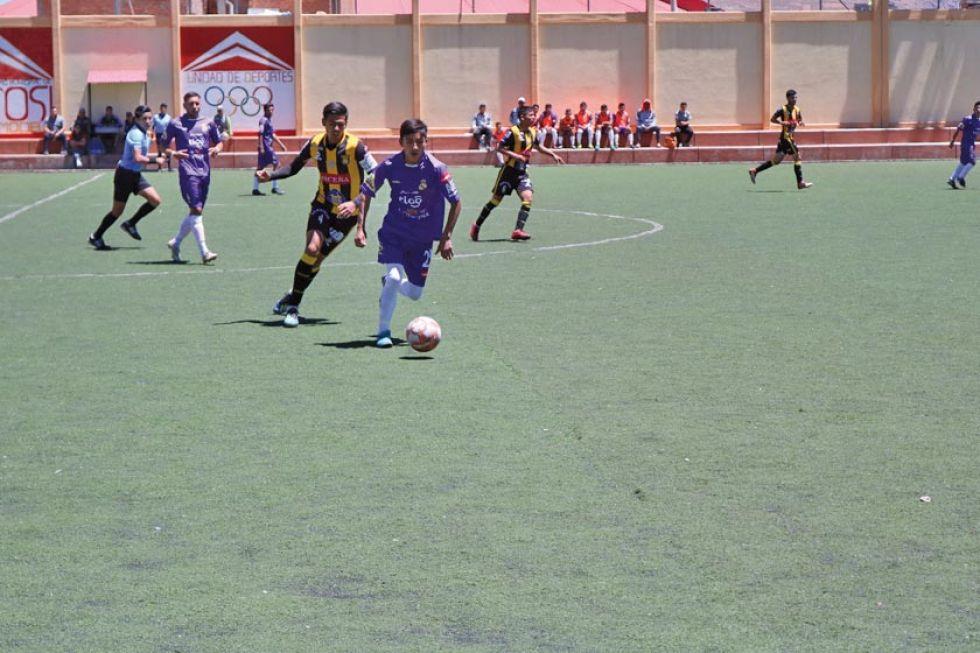 El equipo de reservas lila gana por la minina diferencia al Tigre de Achumani