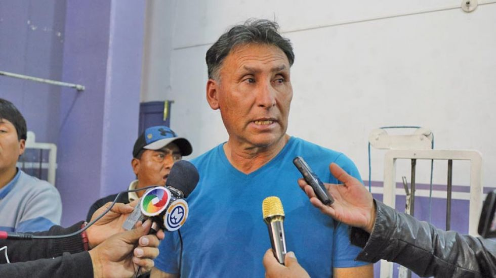 El técnico orureño Marcos Rodolfo Ferrufino.