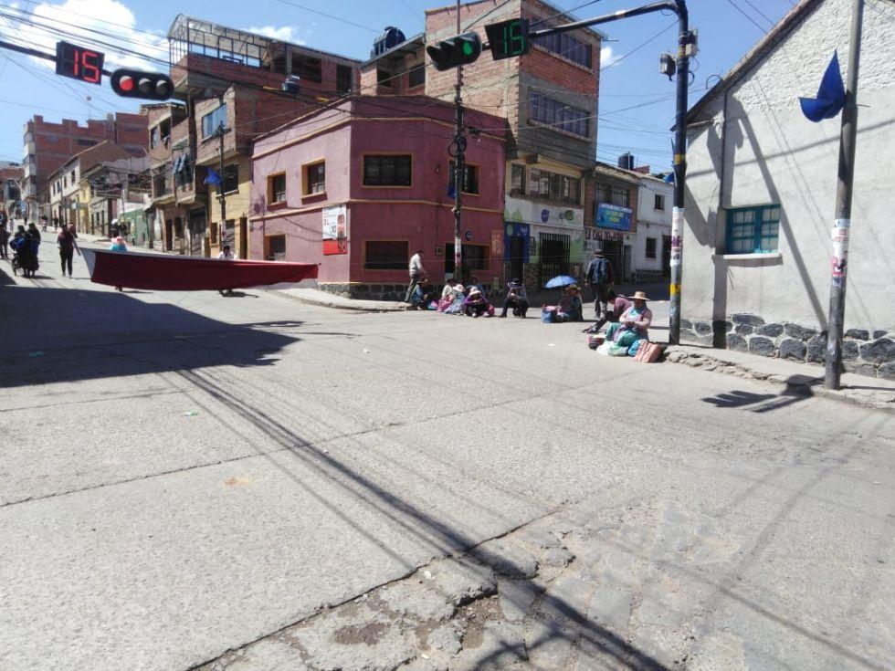 Así están las calles y mercados.