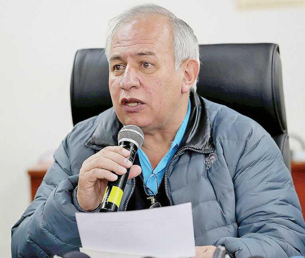 El vicepresidente del Tribunal Supremo Electoral, Antonio Costas.