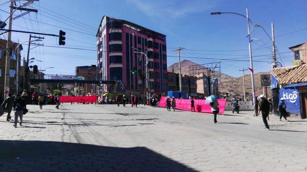 Después del cabildo, Potosí sigue bloqueado