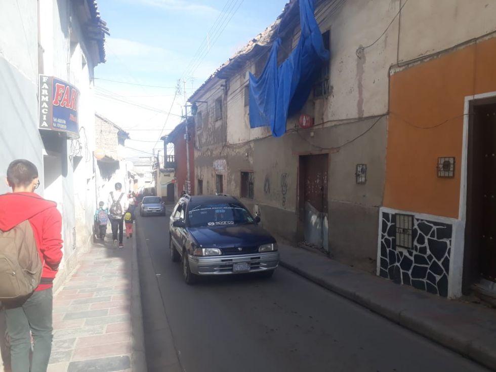 Así están las calles potosinas.