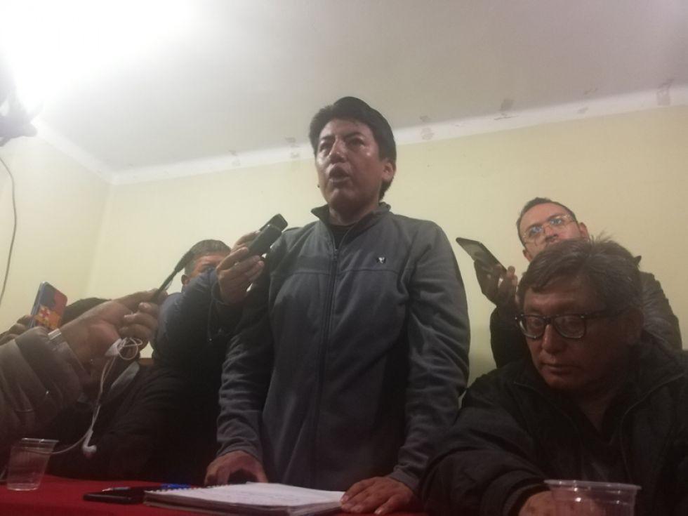 Gobierno no responde la demanda cívica y continúa huelga en Potosí