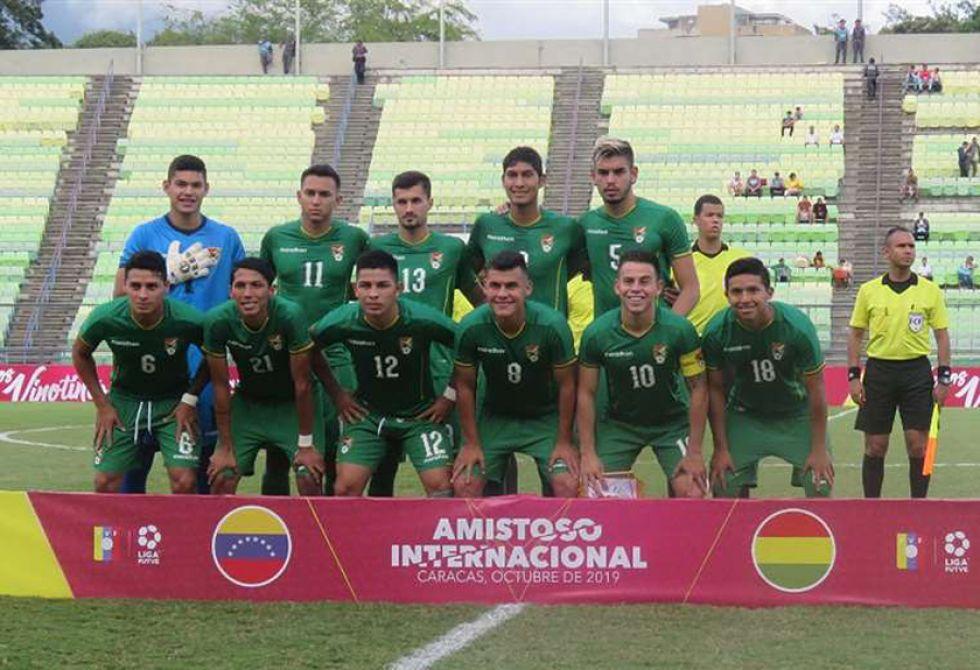 La selección Sub-23 frenó  a Venezuela en Caracas
