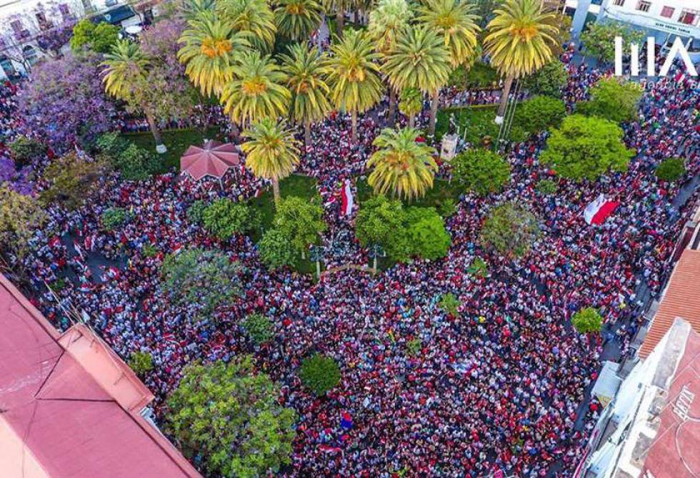 Cabildo tarijeño se suma al pedido de federalismo y desobediencia civil