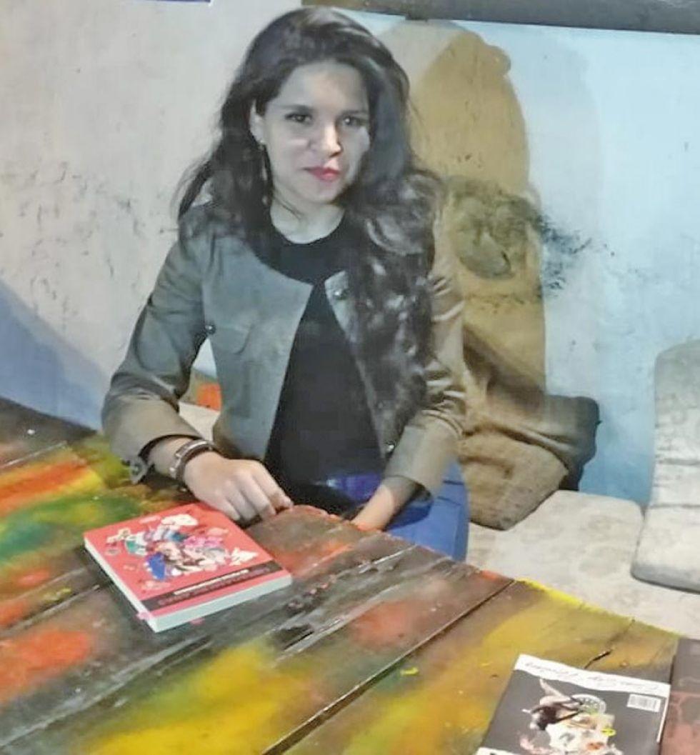 Sarah Cecilia Moscoso Barriga.