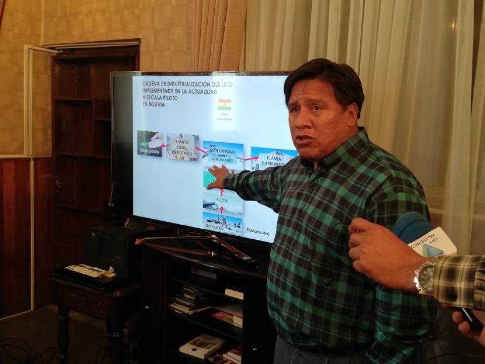 Alcalde plantea ley del litio y cívicos lo ignoran