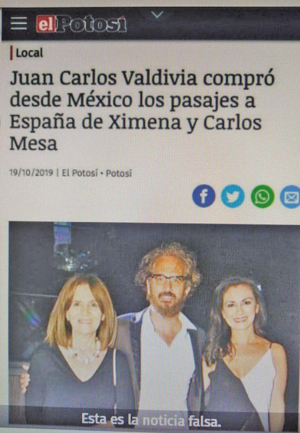 Falsifican noticia y usan a El Potosí