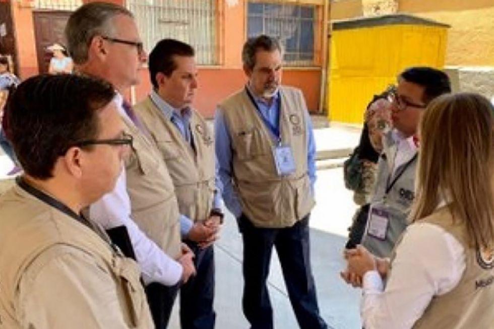 La OEA pide explicación al TSE por la suspensión del conteo de votos