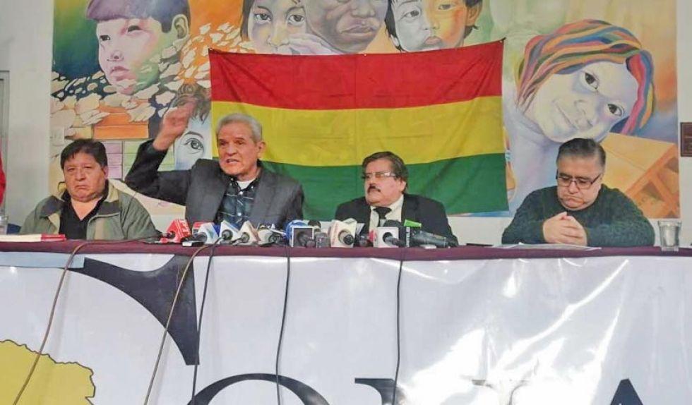 Afirmaron que mañana anunciarán todas las medidas de resistencia civil.