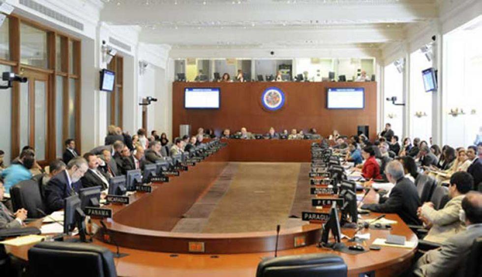 La cita es desde este mediodía en el Salón Simón Bolívar de la sede de la OEA en Washington.