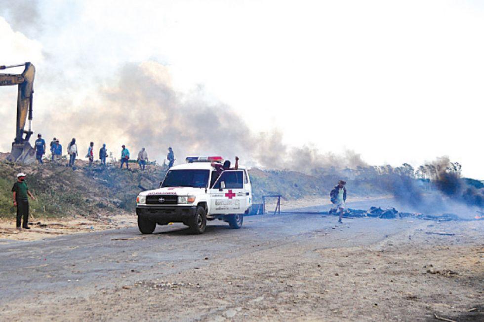 Reportan dos muertos  en enfrentamientos ocurridos en Montero