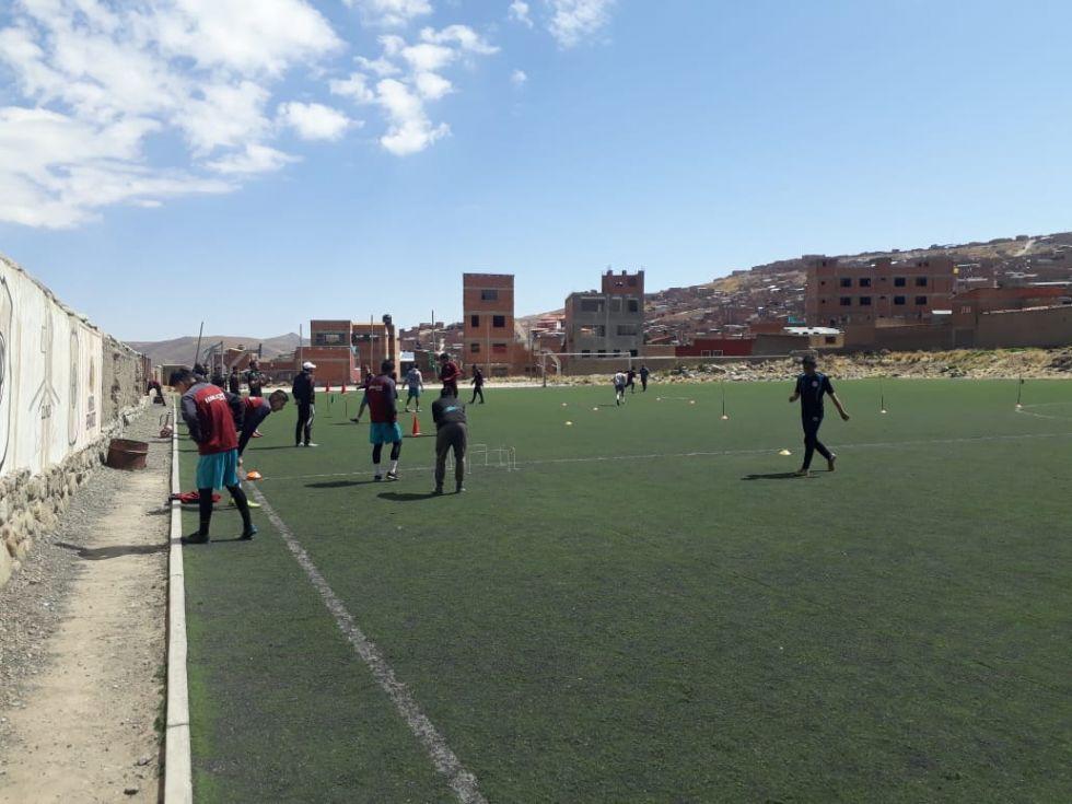 Nacional Potosí inicia la semana con entrenamiento