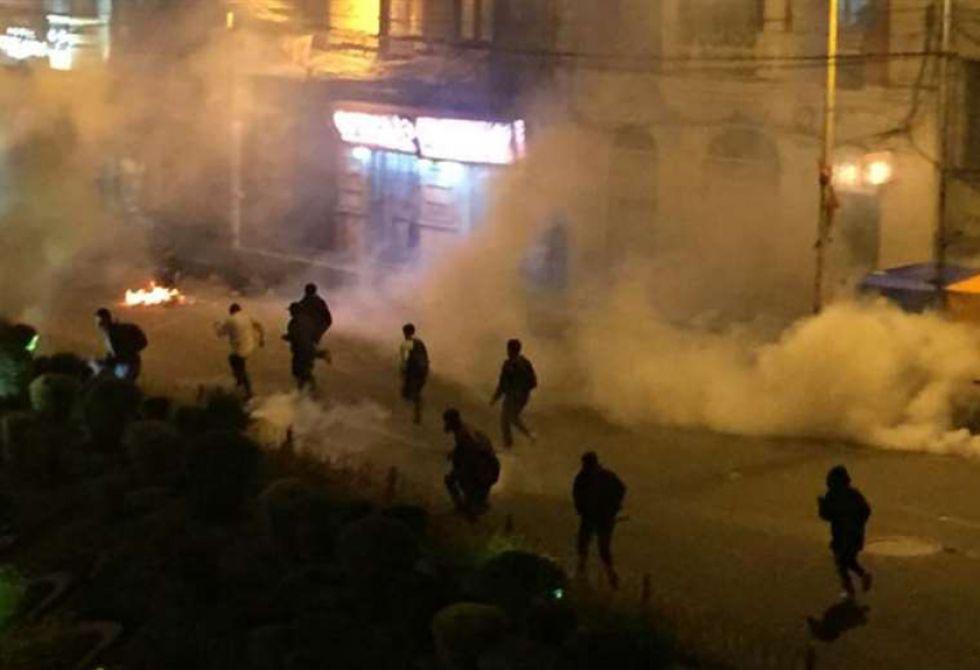 El epicentro del enfrentamiento fue la calle Yanacocha.