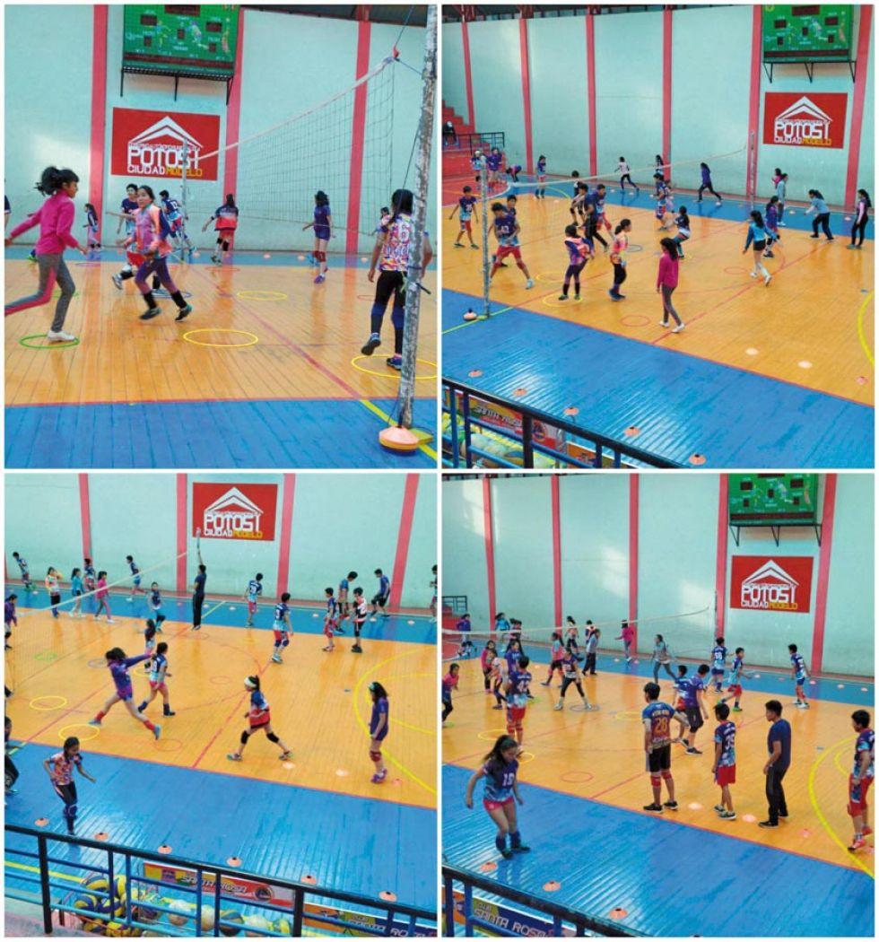 Santa Rosa representará a Potosí en el torneo de voleibol