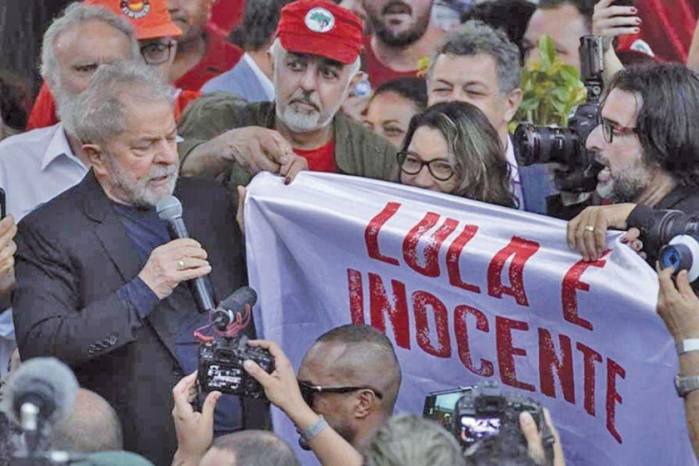 El expresidente Lula da Silva logra su libertad  y la izquierda festeja