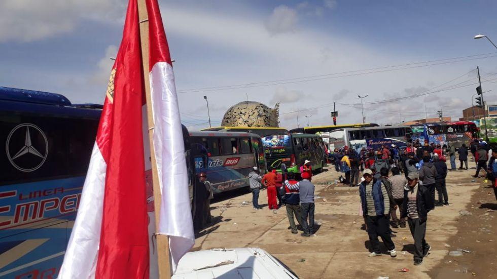 Están en Oruro. FOTO VLADIMIR EQUICE