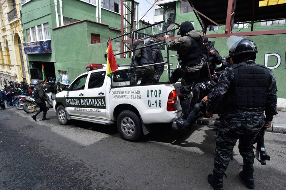 FF.AA. y la Policía se unen con el objetivo de pacificar Bolivia