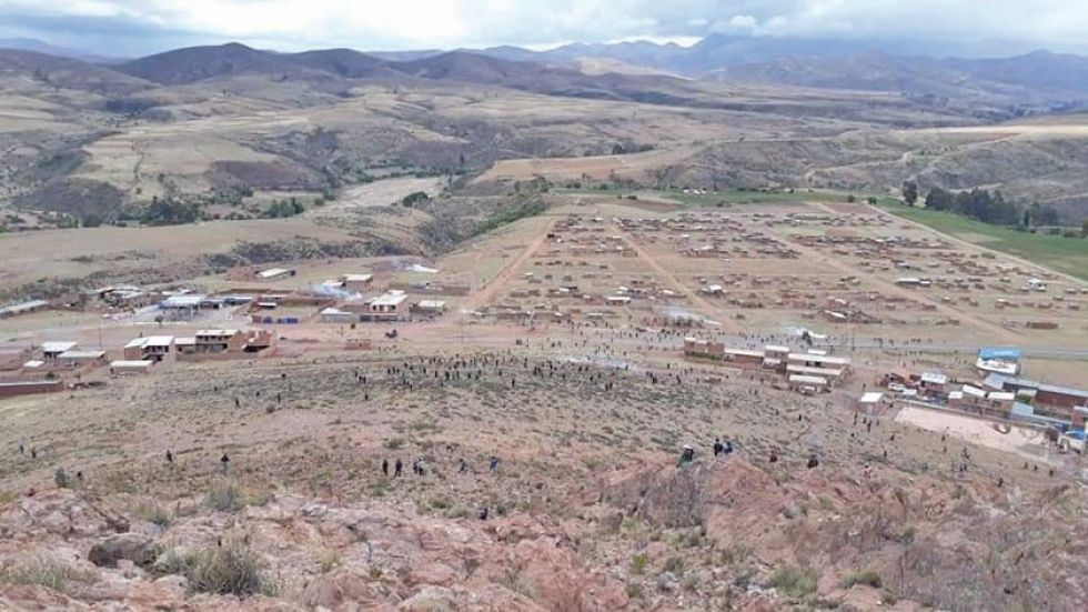 Ayer hubo violentos enfrentamientos en Betanzos.