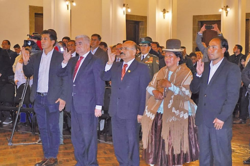 Potosino forma parte del gabinete ministerial de la presidenta Áñez