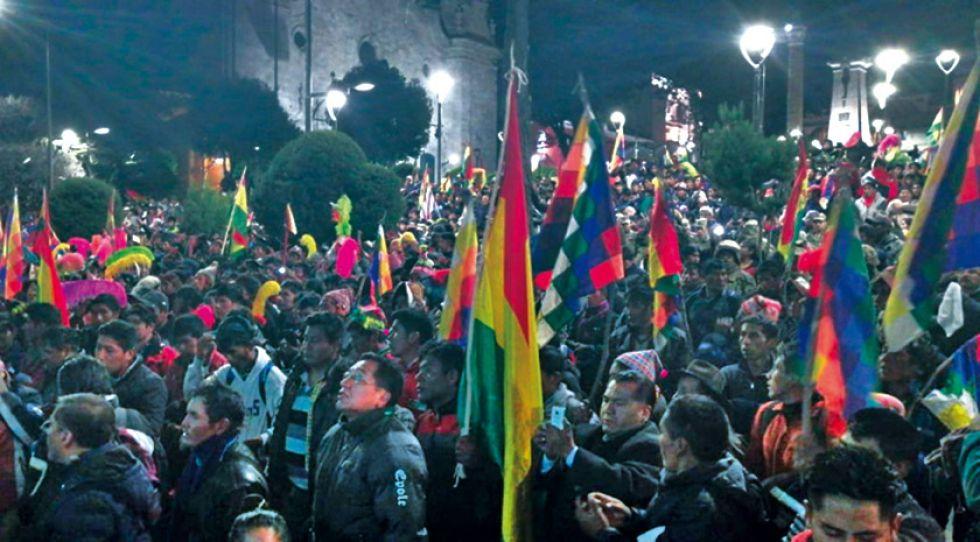 Potosí demuestra a Bolivia que se puede avanzar sin violencia
