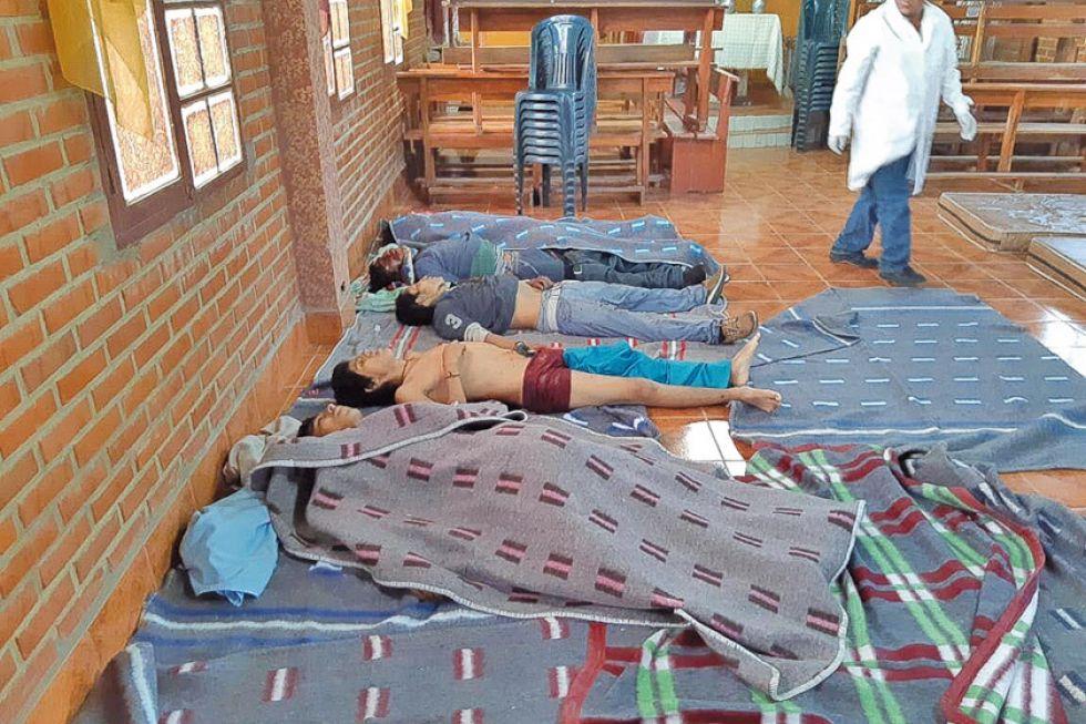 Reportan cinco muertos en enfrentamientos en la población de Sacaba