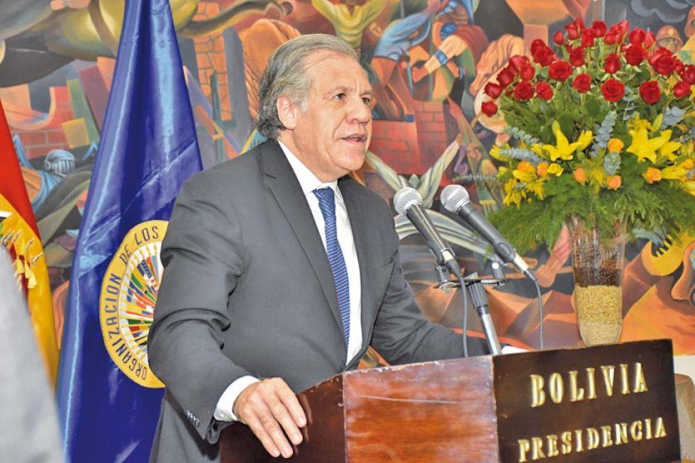 """Almagro: Morales """"tiró por la borda"""" su legado político"""