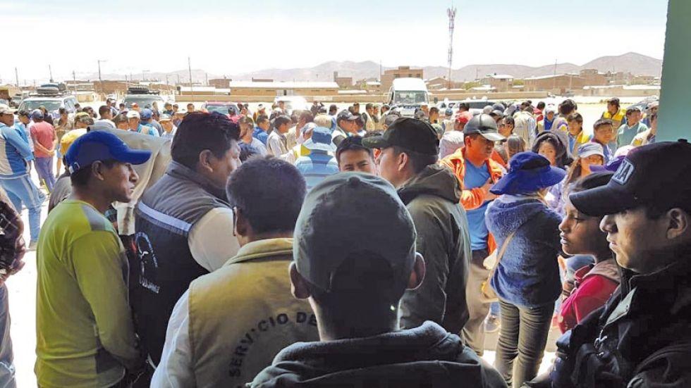 Tres cogoteros desatan pánico en la población de Uyuni